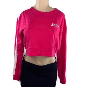 Juice by Juicy Couture Crop Pink Sweater